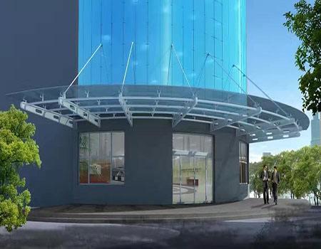 钢结构雨棚施工流程
