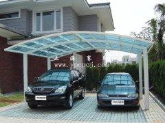 阳光板车棚 YGB-024