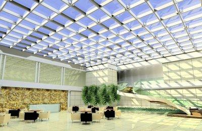 玻璃天棚             TP--015
