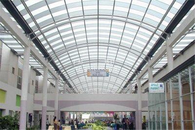 玻璃天棚           TP--003