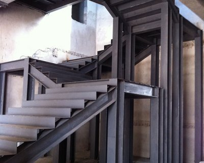 嘉定图书馆楼梯