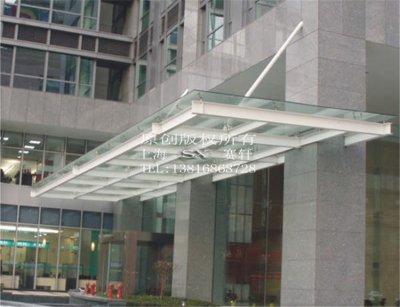 钢结构雨棚为什么要采用夹胶玻璃?